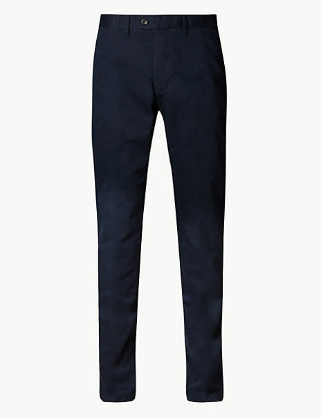 Big & Tall Pure Cotton Chinos with Stormwear™