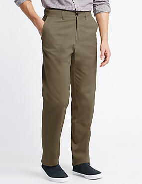 Big & Tall Chinos with Active Waist