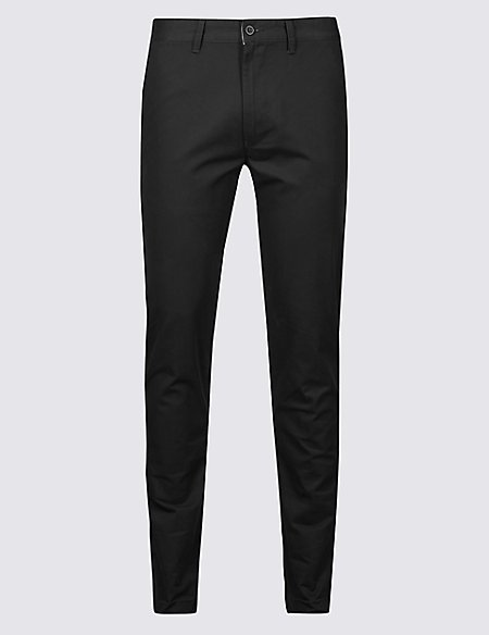 Skinny Fit Pure Cotton Chinos