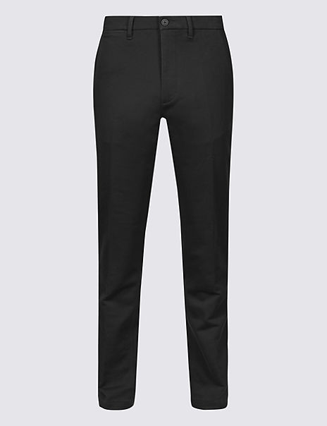 Slim Fit Travel Chinos with Stretch