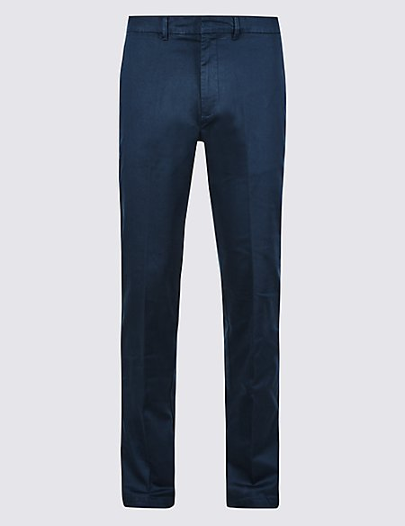Slim Fit Cotton Rich Chinos with Stretch