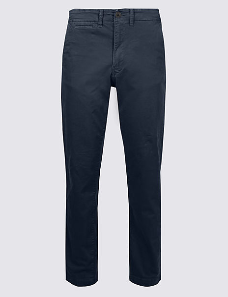Slim Fit Authentic Chinos with Stretch