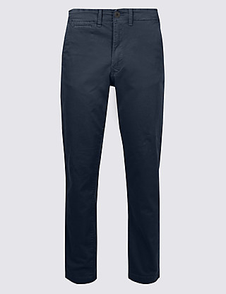 Slim FitAuthenticChinos with Stretch Clothing