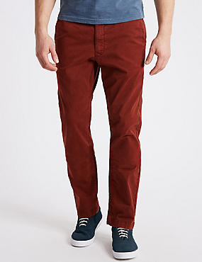 Slim Fit Cotton Rich Authentic Chinos