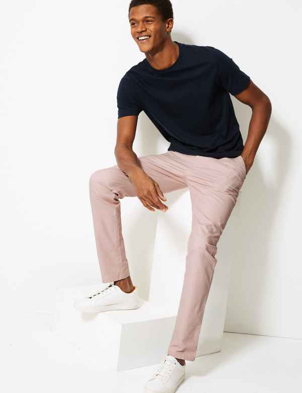 1f69d291c836 Mens Chinos | Trousers & Pants For Mens| M&S