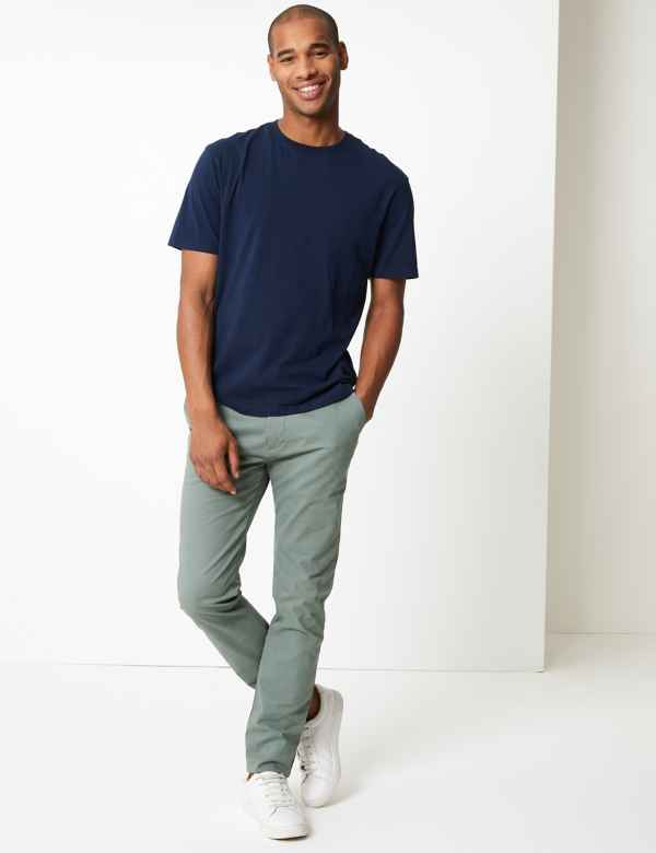 7b1d692fc0c Skinny Fit Chinos with Stretch