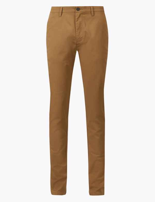 Skinny Fit Chinos with Stretch