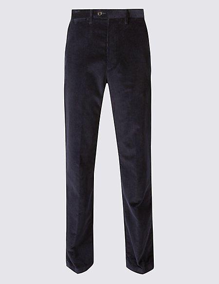 Regular Fit Super Soft Corduroy Trousers
