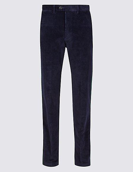 Cotton Rich Corduroy Trousers