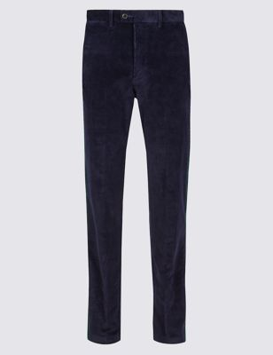 Big & Tall Regular Fit Corduroy Trousers by Marks & Spencer