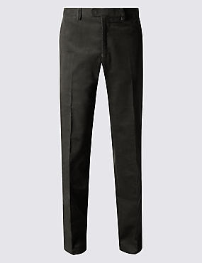 Tailored Fit Cotton Rich Corduroy Trousers