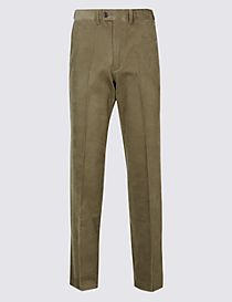 Big & Tall Tailored Fit Corduroy Trousers