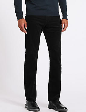 Big & Tall Straight Fit Corduroy Trousers
