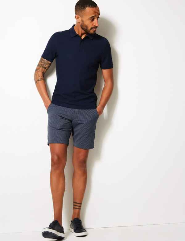 a4071bbc Mens Chino & Cargo Shorts | 3/4 Length Shorts For Men | M&S