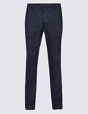 Skinny Fit Cotton Rich Chino Trousers