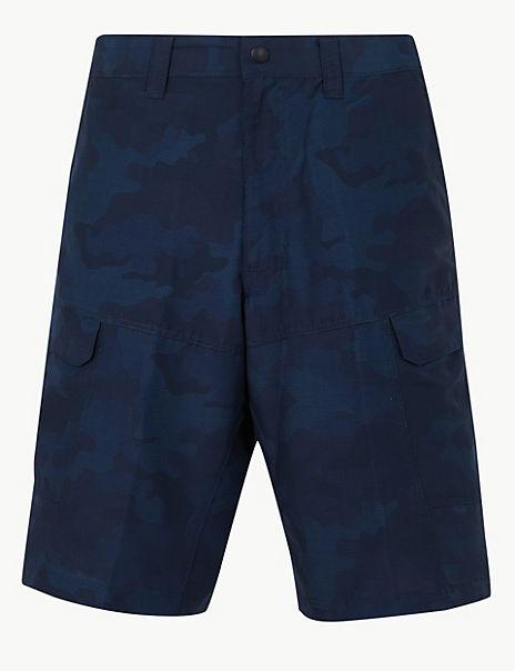 Printed Trekking Shorts with Stormwear™