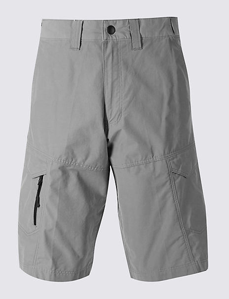 Cotton Rich Trekking Shorts with Stormwear™