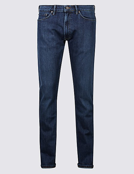 Slim Fit Selvedge Jeans with Stormwear™