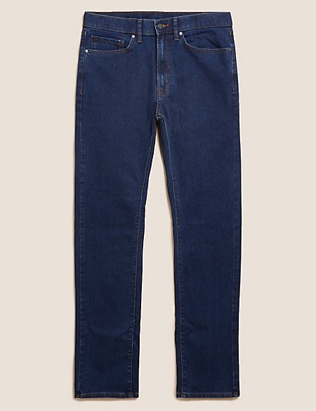 Tapered Fit Stretch Jeans with Stormwear™