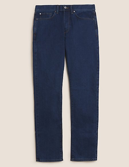 Shorter Length Regular Fit Stretch Jeans