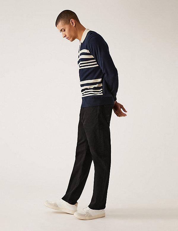 Shorter Length Regular Fit Stretch Jeans