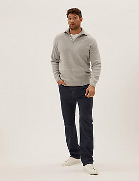 Big & Tall Regular Fit Stretch Jeans with Stormwear™