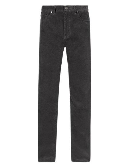 Pure Cotton 5 Pocket Corduroy Trousers