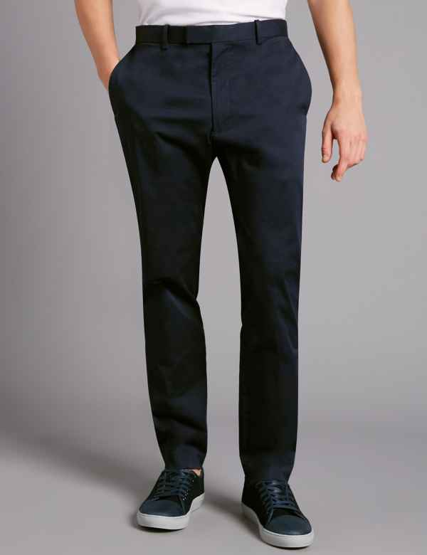 92fe75d6abe Slim Fit Stretch Cotton Chinos