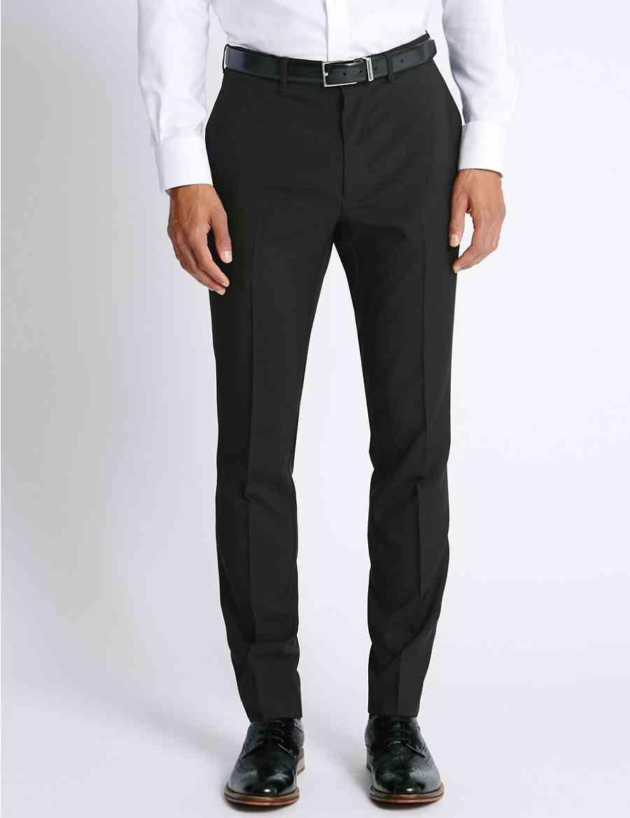 Pantalones Fit Pantalones Plana Slim Delantera Delantera 0agwqp