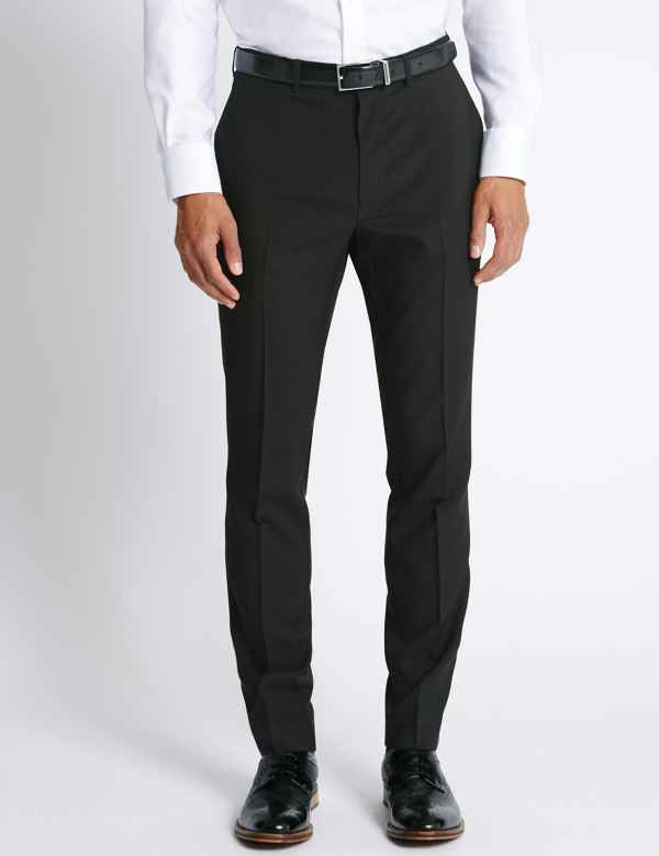 14e29a7315 Slim Fit Flat Front Trousers