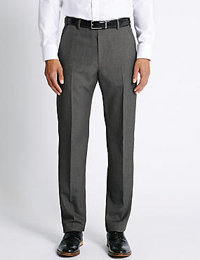 Pantalón regular sin pinzas ... 6b0570498aaf