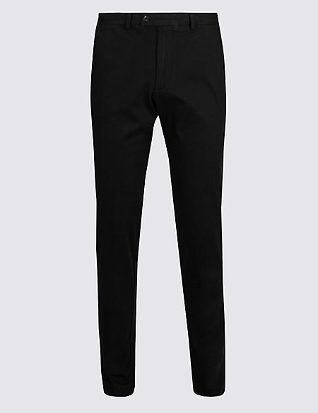 Slim Fit Smart Travel Chinos with Stretch