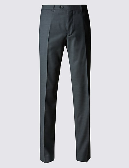 Italian wool Tailored Fit Trousers