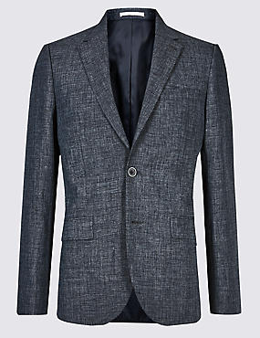 Linen Miracle Slim Fit Jacket