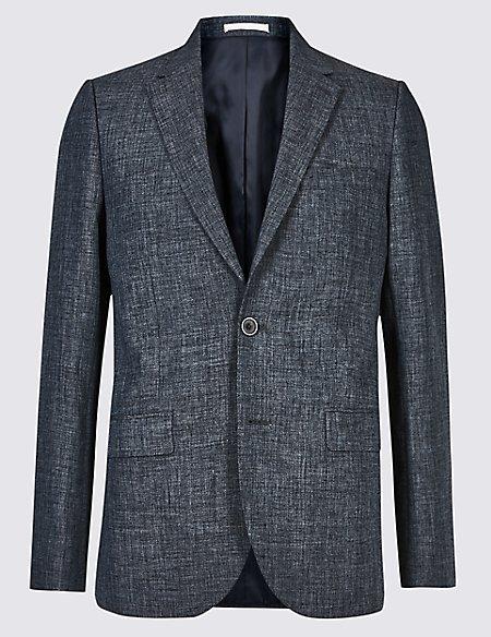 Linen Miracle Regular Fit Jacket