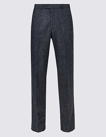 Linen Miracle Regular Fit Trousers