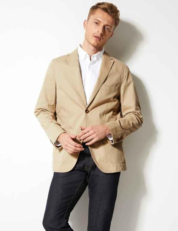 b01c7a0a65de3 Mens Blazers & Smart Jackets | M&S