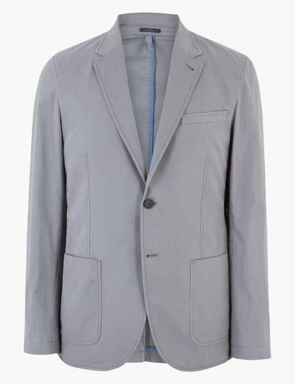 517cd711357d Pure Cotton Tailored Fit Jacket. New to Sale