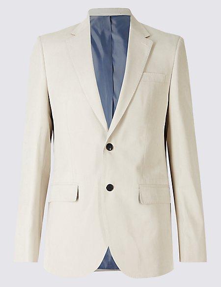 Suedette 2 Button Jacket