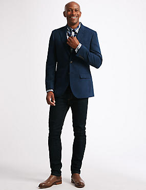 Regular Fit Textured Jacket