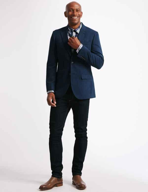 c683361f463e4 Mens Blazers & Smart Jackets | M&S