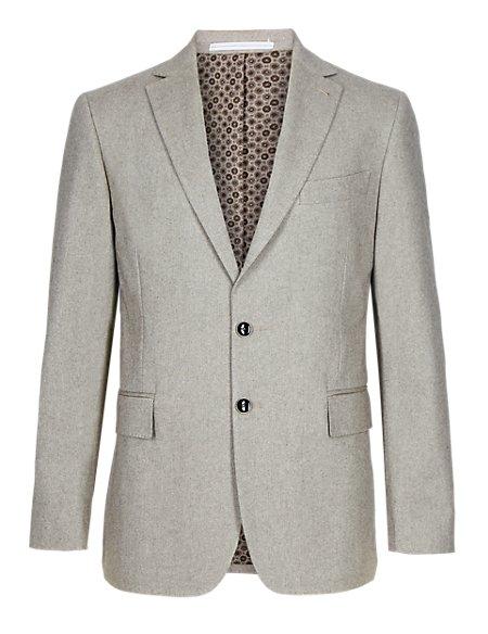 Pure Cotton 2 Button Jacket