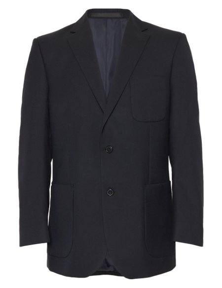 Slim Fit 2 Button Blazer