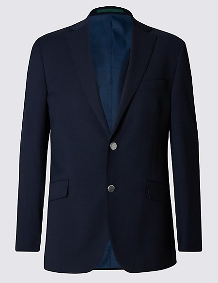 Big & Tall Performance Wool Blend Blazer
