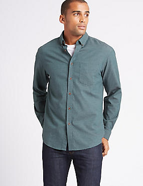 Pure Cotton Flannel Shirt