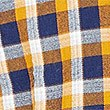 Pure Cotton Checked Shirt with Pocket, AMBER MIX, swatch