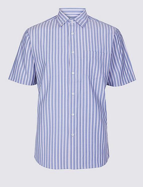 Modal Blend Striped Shirt