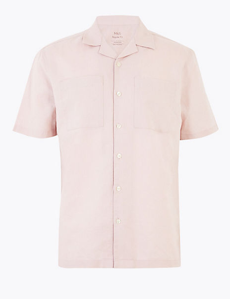Linen Rich Easy Iron Shirt
