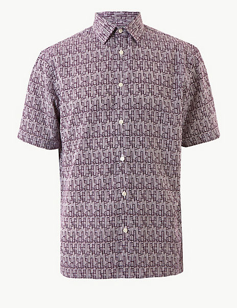 Relaxed Fit Printed Shirt