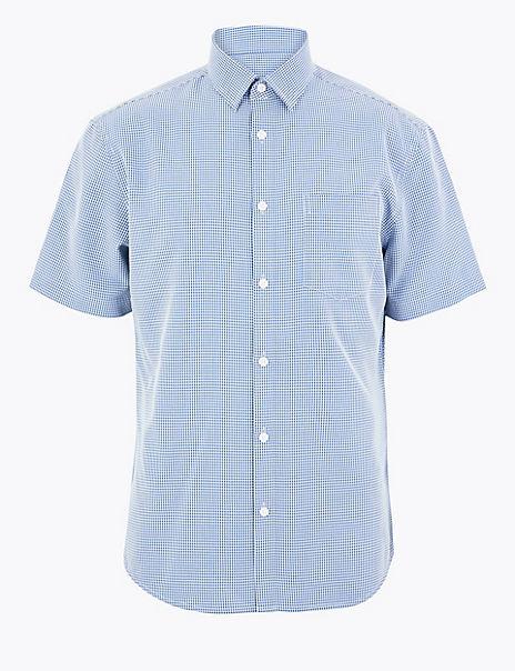 Modal Blend Easy to Iron Shirt